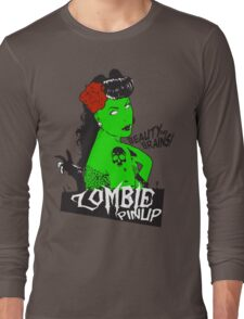 Zombie Pinup #2 Long Sleeve T-Shirt