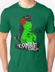 Zombie Pinup #2 Unisex T-Shirt