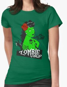 Zombie Pinup #2 Womens Fitted T-Shirt