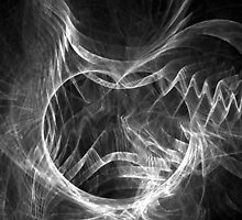 Black and White Fractal by TigerLynx