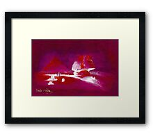 Sphinx and Pyramids 1838 - all products except duvet Framed Print