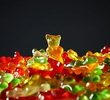 Gummy Bear King by tshirtdesign