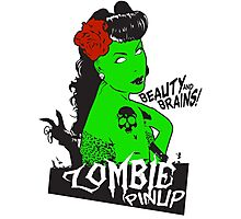 Zombie Pinup #2 Photographic Print