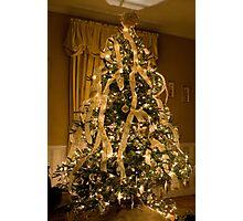 Watson's Family Room Christmas Photographic Print