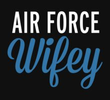 Air Force Wifey Blue by GregWR