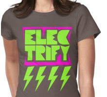Electrify Womens Fitted T-Shirt