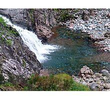 Waterfall in Glen Coe Photographic Print