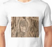Buddha's Face in a Tree T-Shirt