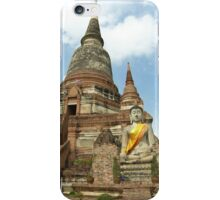 A Buddha in The Sun iPhone Case/Skin