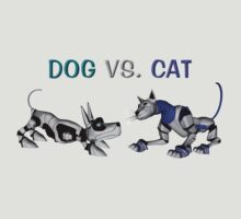 Dog vs. Cat by Lisa  Weber