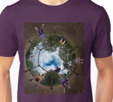 6 Seater Swing - Sky In Unisex T-Shirt