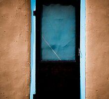 Taos Pueblo Door by doorfrontphotos