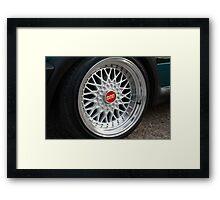 BBS wheels Framed Print