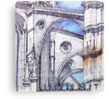 bATALHA flying buttress Canvas Print