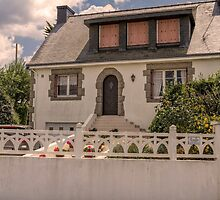 Home French Style, Billiers, France by Elaine Teague