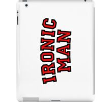 Ironic Man iPad Case/Skin