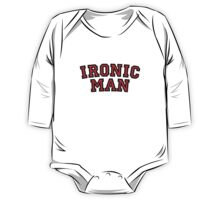 Ironic Man One Piece - Long Sleeve