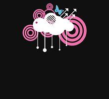 Rain Cloud Swirls Womens Fitted T-Shirt