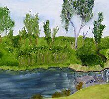 Creek and Bush by kdesignz