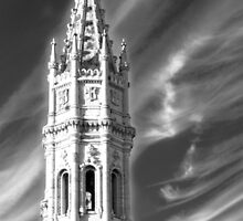 pinnacle in the clouds. mosteiro dos jeronimos. by terezadelpilar~ art & architecture