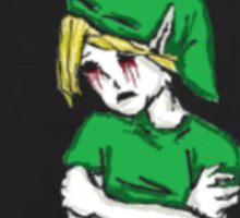BEN Drowned: Sad, Lonely Child  Sticker