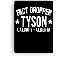 Fact Dropper Canvas Print