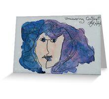 Unwavering Contempt Greeting Card