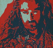 Thorin Oakenshield by Bastards And  Broken Things