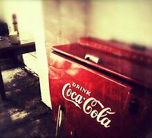 old freezer coca cola by Amadeus-ch
