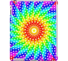 Rainbow Polka Dot Kaleidoscope Mandala iPad Case/Skin
