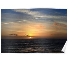 Milford on Sea Sunset #1978 Poster