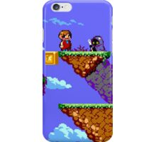 Alex Kidd Revised iPhone Case/Skin