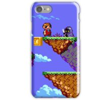 Alex Kidd Revised iPhone Case/Skin