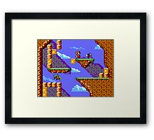 Alex Kidd Revised Framed Print