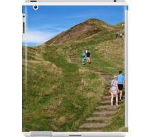 Walking Up Mam Tor iPad Case/Skin