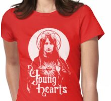 Young Hearts Be Free. Womens Fitted T-Shirt