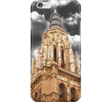 bell tower. Catedral de Toledo. torre sineira iPhone Case/Skin