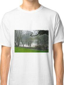 Pond near Home Farm, Ilam Classic T-Shirt