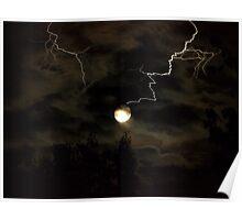 Full Moon Storm Poster