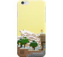 Video Game Platform Winter Piece iPhone Case/Skin