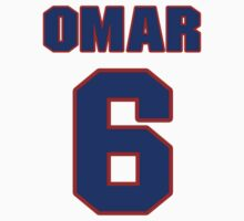 National baseball player Omar Quintanilla jersey 6 by imsport