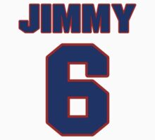 National baseball player Jimmy Bloodworth jersey 6 by imsport