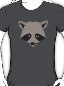 Super cute racoon face T-Shirt