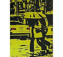 Rainy City Day Photographic Print