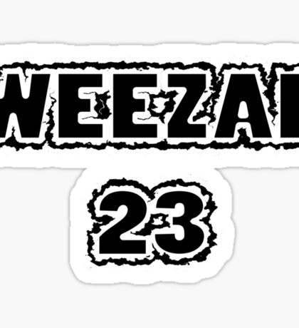 Weezal 23 Sticker