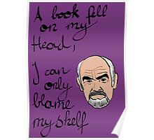 I can only blame myself Poster