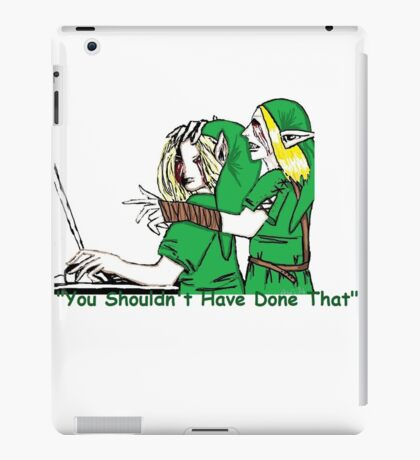 BEN Drowned Roleplaying Who's In Control? iPad Case/Skin