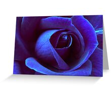 Icy Rose Greeting Card
