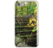 Old Mill and Water Wheel, Miller's Dale iPhone Case/Skin