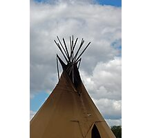 Tee pee Photographic Print
